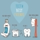 Teeth Best Friends - GraphicRiver Item for Sale