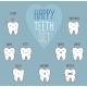 Happy Teeth Set - GraphicRiver Item for Sale