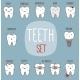 Teeth Treatment Set - GraphicRiver Item for Sale
