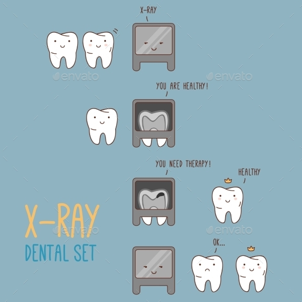 GraphicRiver Comics About Dental X-Ray 11443618