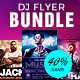 DJ Flyer Template PSD Bundle - GraphicRiver Item for Sale
