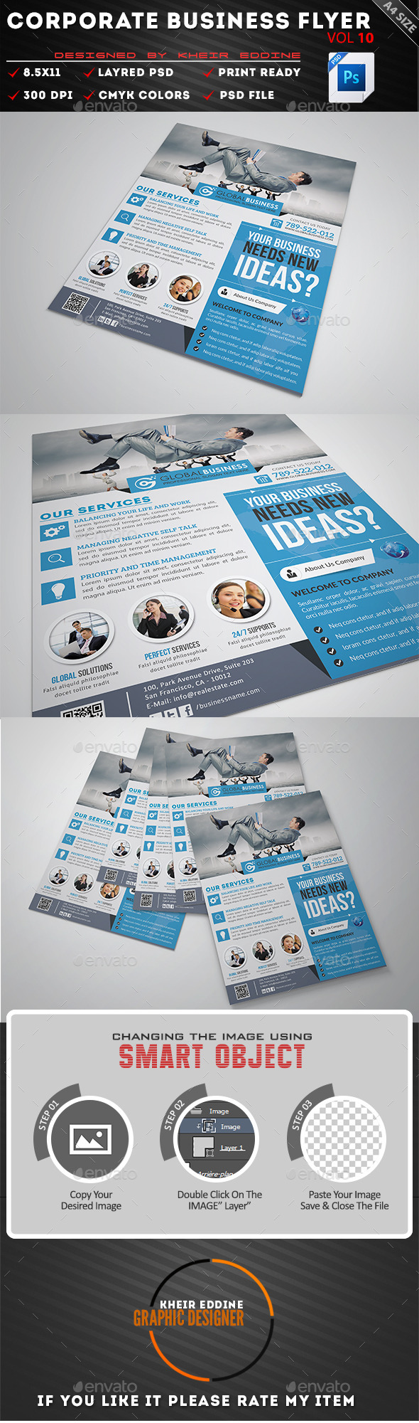 GraphicRiver Corporate Business Flyer Vol 10 11444038