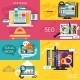 SEO And Web Design Concepts - GraphicRiver Item for Sale
