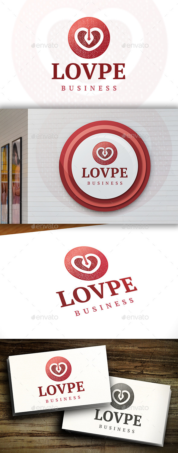 GraphicRiver Pen Love Logo 11444379