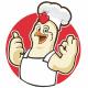 Chicken Chef Logo - GraphicRiver Item for Sale