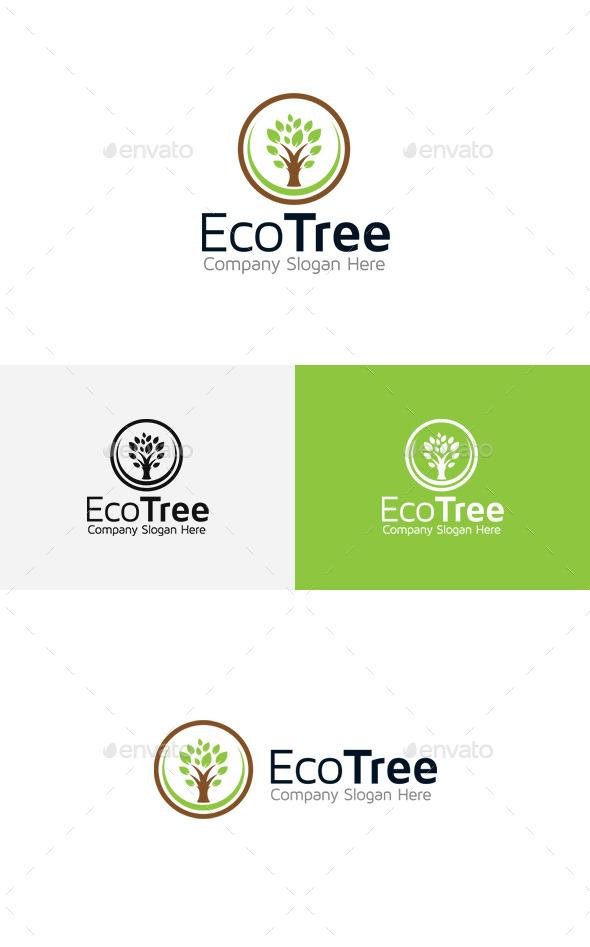 GraphicRiver Tree Logo 11444436