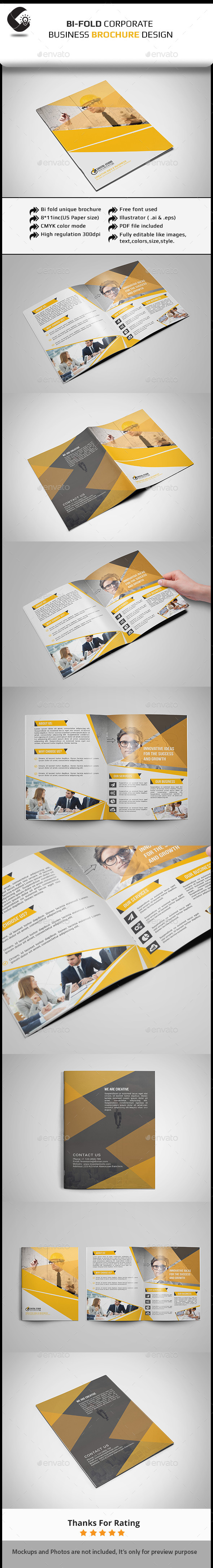 GraphicRiver Corporate Brochure-4pages 11444534