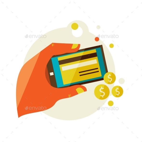 GraphicRiver Processing Of Mobile Payments 11444564