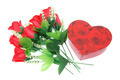 Red Roses and Gift Box - PhotoDune Item for Sale