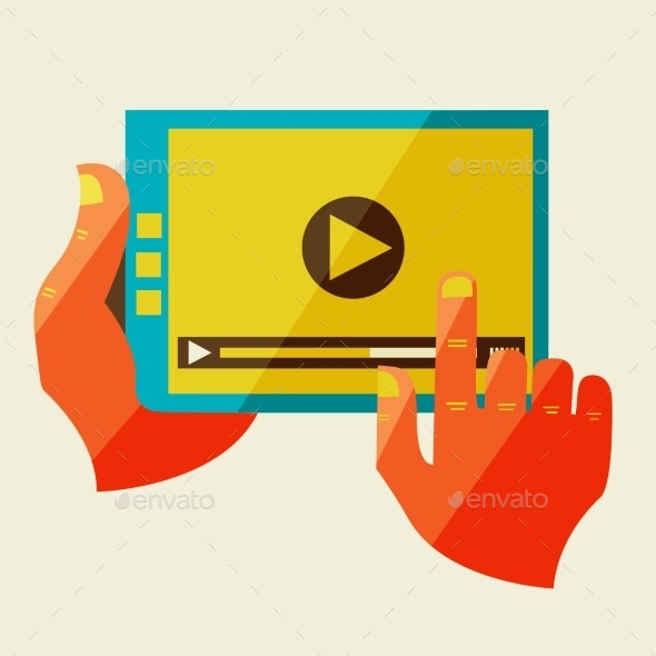 GraphicRiver Creative Concept With Video Player 11444657