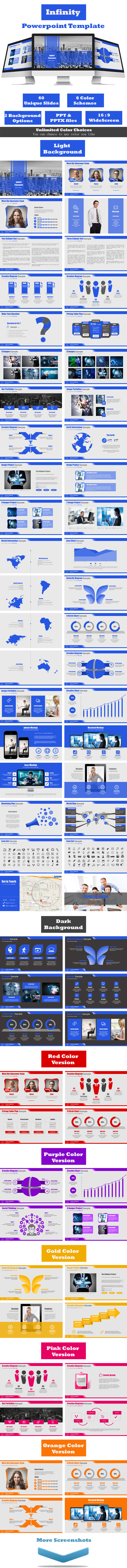 GraphicRiver Infinity Powerpoint Template 11411729