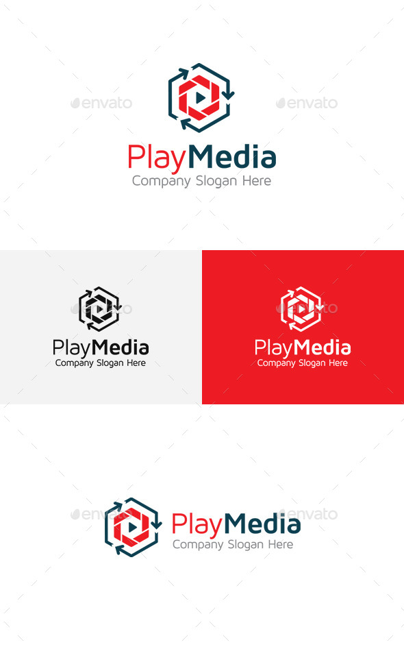 GraphicRiver Play Logo 11444822