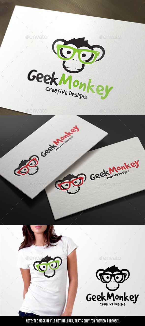 GraphicRiver Geek Monkey 11445063