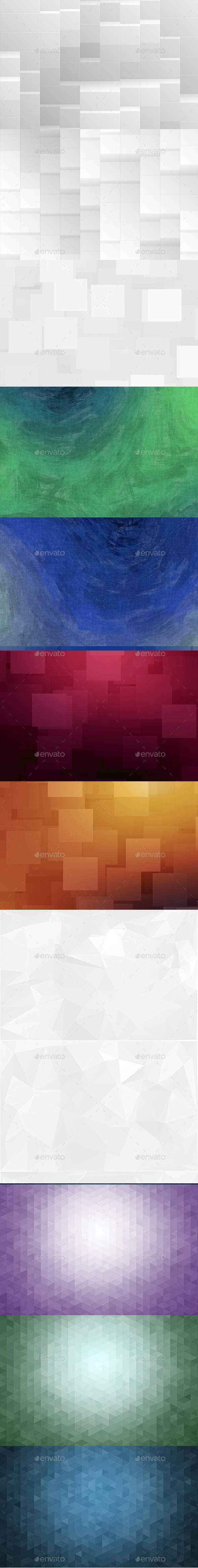 GraphicRiver Abstract Backgrounds Bundle Vol.1 11445170