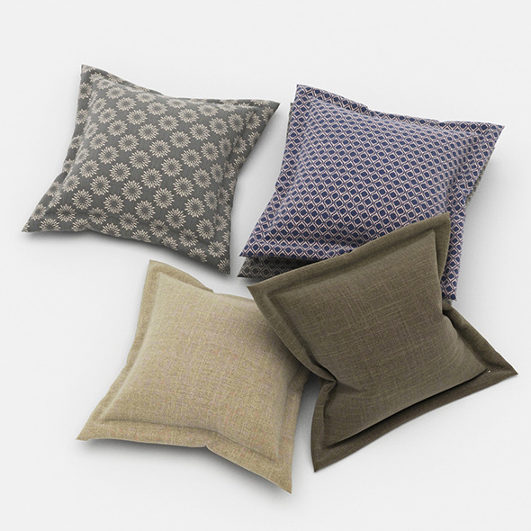 3DOcean Pillows 68 11445219