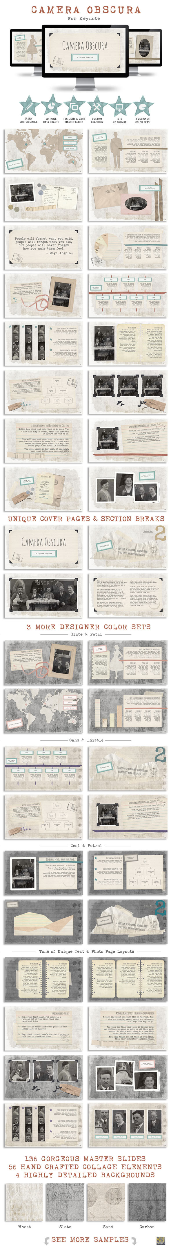 GraphicRiver Camera Obscura Keynote Presentation Template 11445265