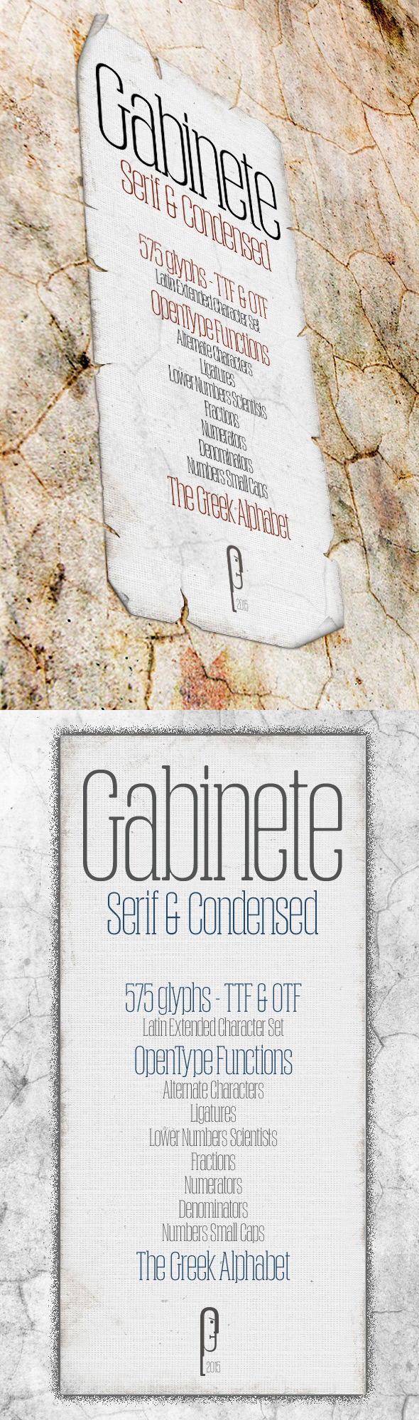 GraphicRiver Gabinete Serif & Condensed 11445343
