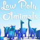 Low Poly Animals Set