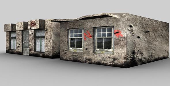 Old Buildings - 3DOcean Item for Sale