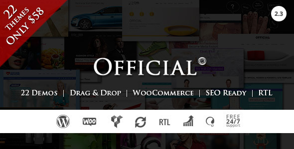 Official | Multi Concept WordPress Theme + RTL