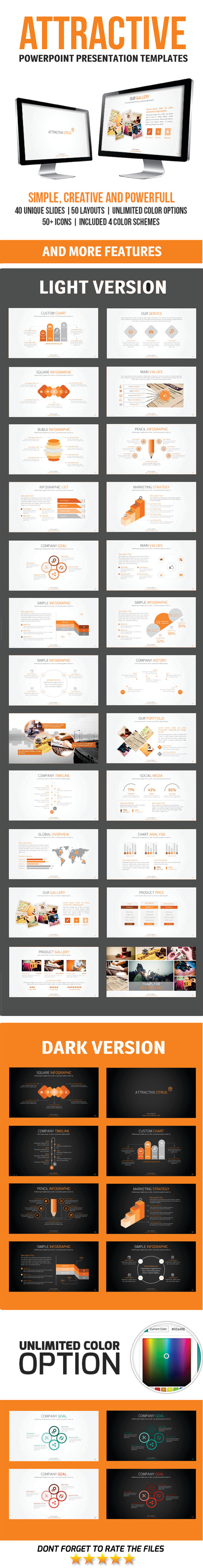 GraphicRiver Attractive PowerPoint Template 11445472
