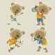 Bear Athlete - GraphicRiver Item for Sale
