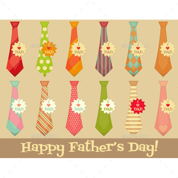GraphicRiver Father s Day 11445588