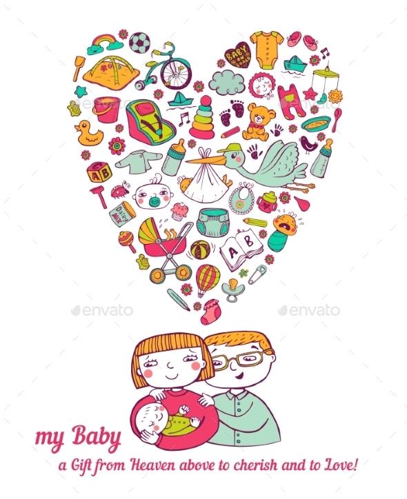 GraphicRiver Baby Care 11445625