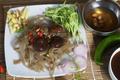 shiitake mushrooms and sweet potato noodles - PhotoDune Item for Sale