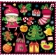 Christmas collection of cute holiday objects - GraphicRiver Item for Sale