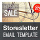 Storesletter HTML email-marketing template to sell - ThemeForest Item for Sale