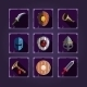 Game Icons. Viking Emblem.  - GraphicRiver Item for Sale