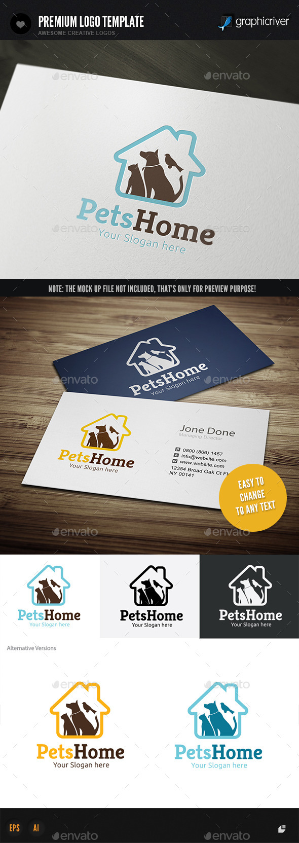 GraphicRiver Pets Home 11446121