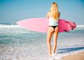 Blode surfer Girl - PhotoDune Item for Sale