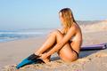 Female bodyboarder - PhotoDune Item for Sale