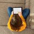 Woman using a digital tablet - PhotoDune Item for Sale