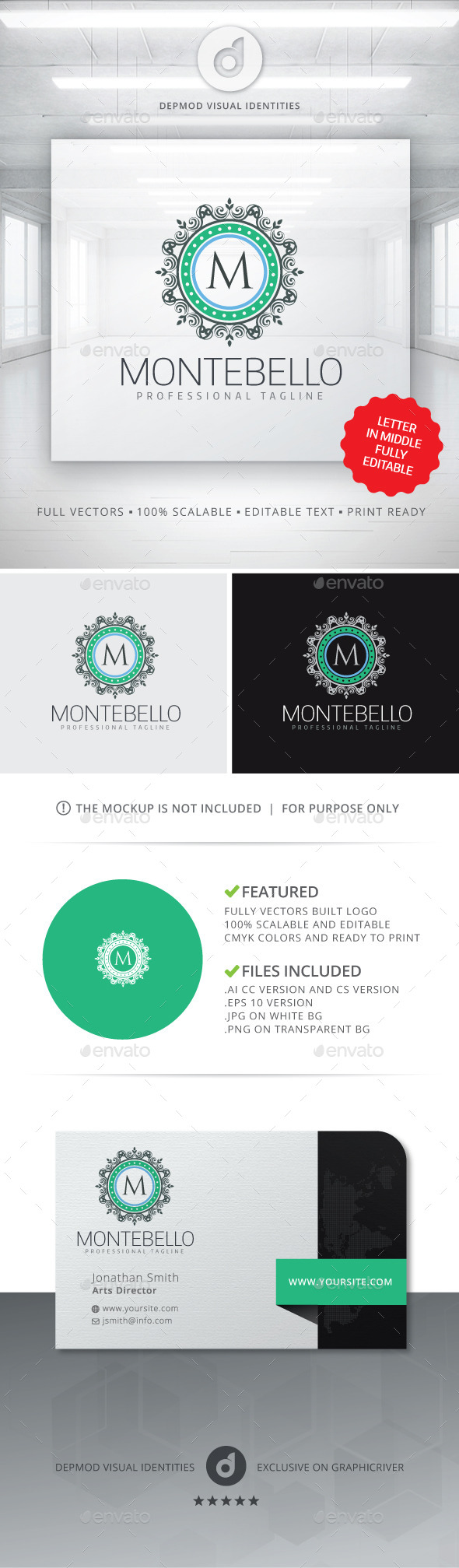GraphicRiver Montebello Logo 11446172