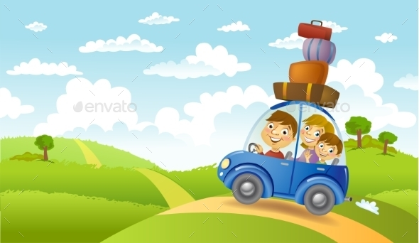 GraphicRiver Family Summer Adventure 11446321