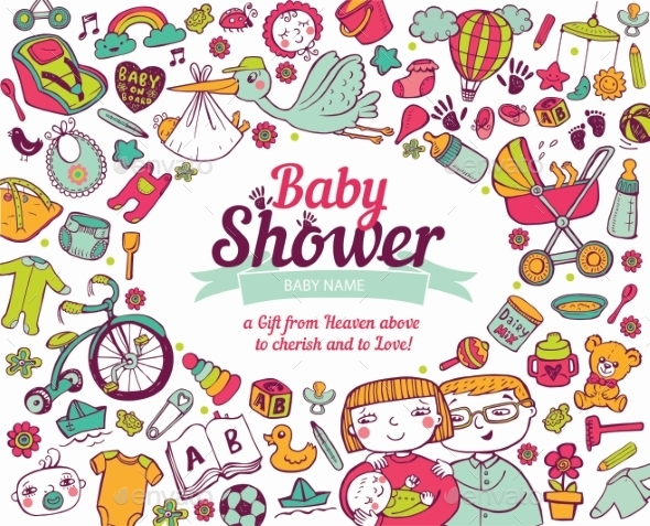 GraphicRiver Baby Shower 11446370