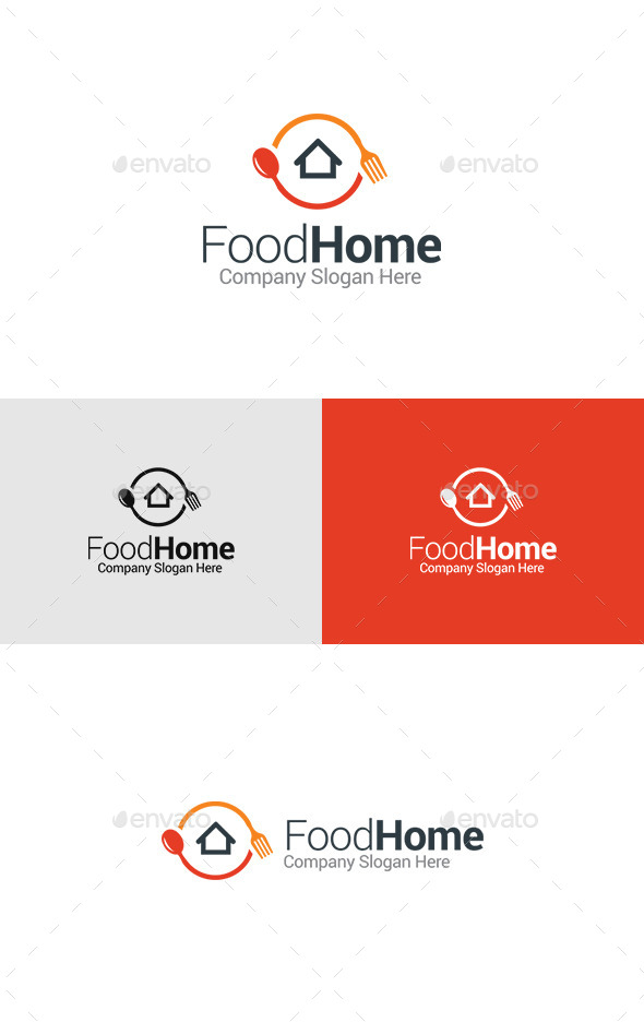 GraphicRiver Food Home Cuisine Logo 11447060