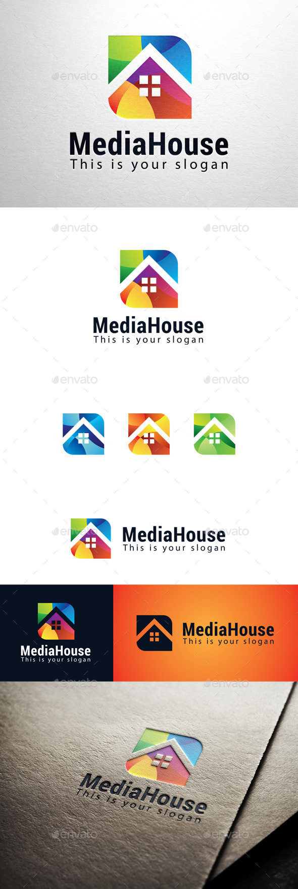 GraphicRiver Media House Logo 11447169