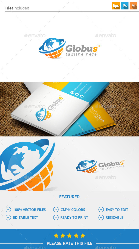 GraphicRiver Globe Logo 11447493