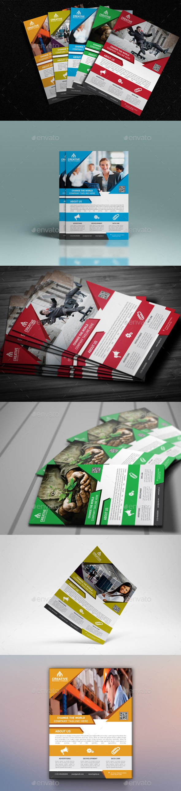 GraphicRiver Corporate Flyer Template 11447575