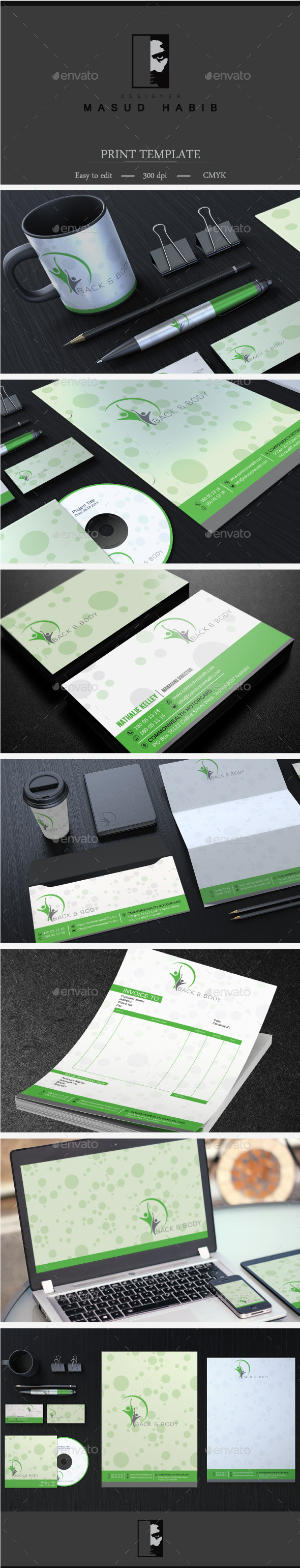 GraphicRiver Creative Corporate Identity 28 11447596