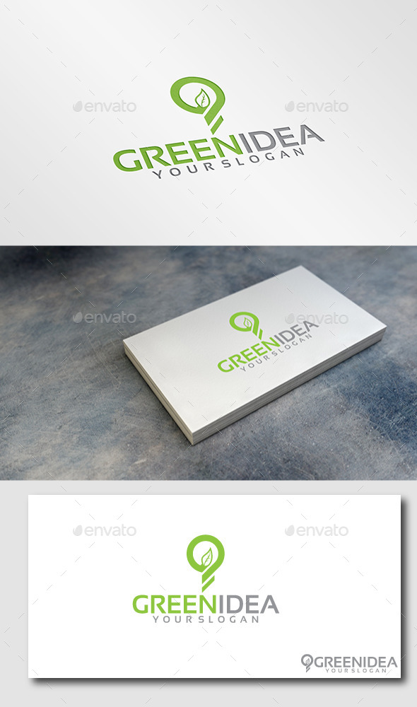 GraphicRiver Green Idea Logo 11447984