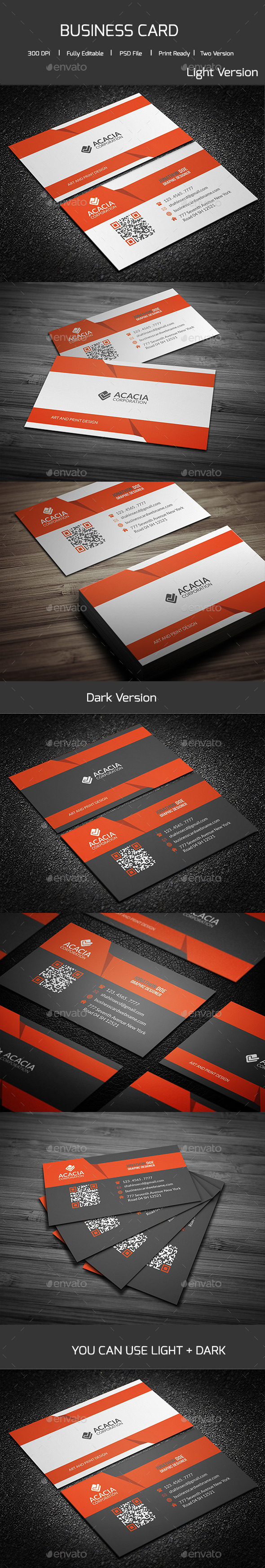 GraphicRiver RAHEE Business Card 11448156