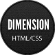 Dimension - Minimalist Portfolio Template