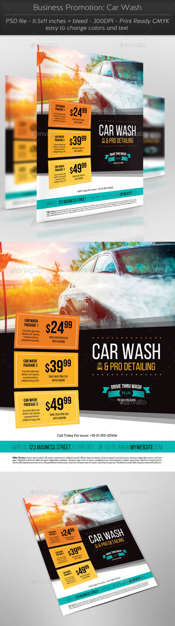 GraphicRiver Business Promotion Car Wash 11448967