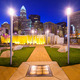 Charlotte North Carolina Park and Skyline - PhotoDune Item for Sale