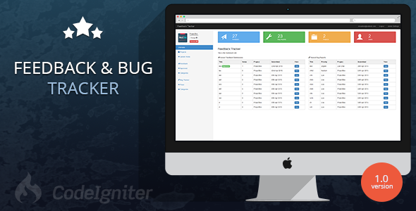 CodeCanyon Feedback & Bug Tracker Management Tool 11449687